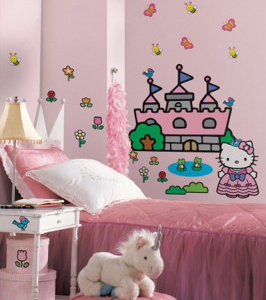 vinilos infantiles originales hello kitty