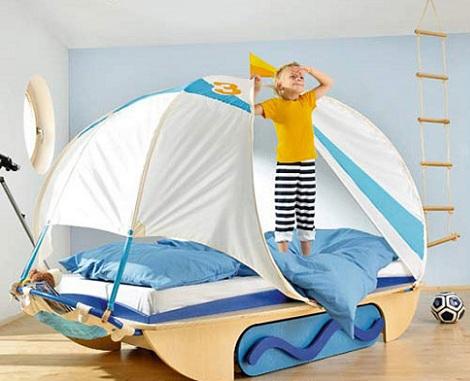 camas originales barco