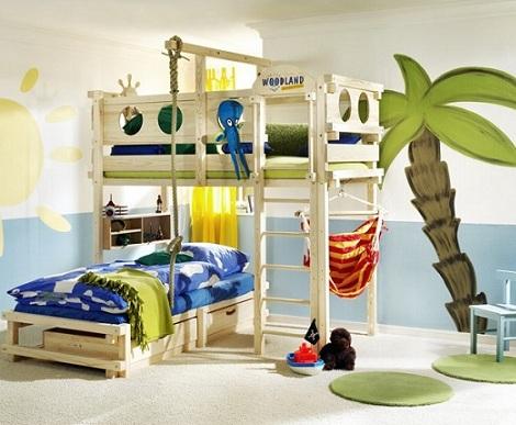 Camas originales para ni os habitaci n infantil - Habitaciones ninos originales ...