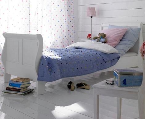 camas princesas pie alto