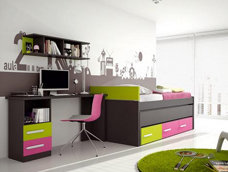 Dormitorio juvenil Muebles Rey