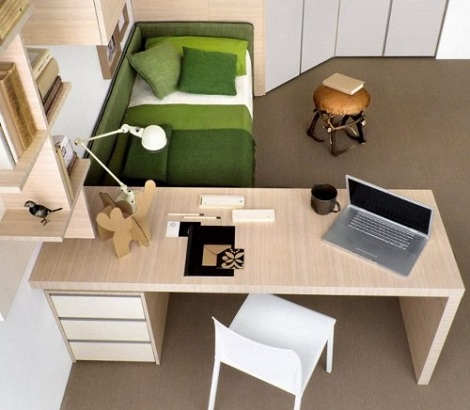 escritorio habitacion juvenil cajones