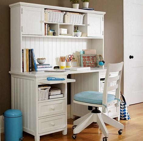 escritorio habitacion juvenil clasico