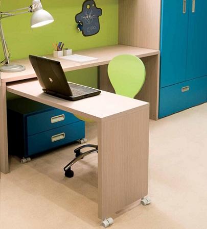 escritorios juveniles doble mesa