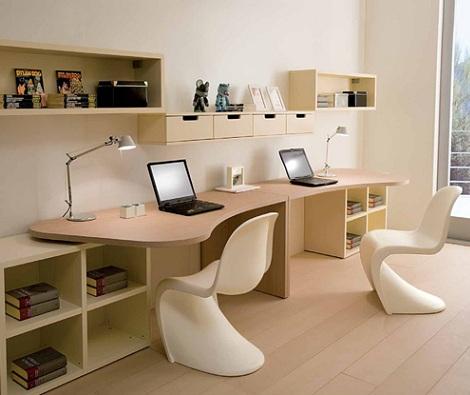 escritorios juveniles doble