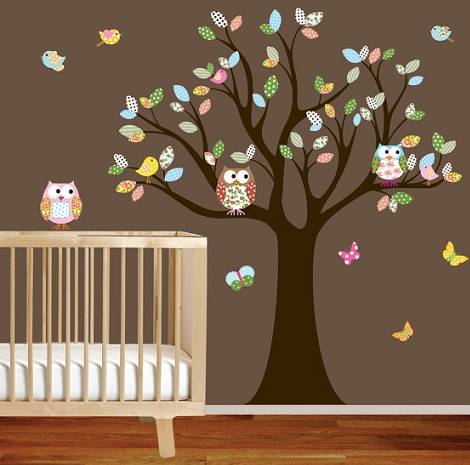 Vinilos decorativos para la habitación del bebé | Habitación Infantil