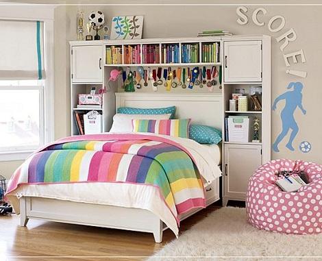 habitacion juvenil chica colores