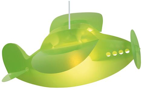 Lámpara infantil de avión