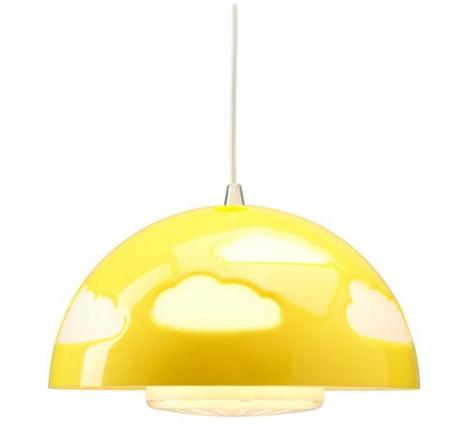 Lámpara infantil de Ikea