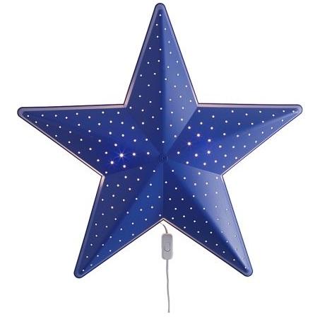 lamparas habitacion infantil ikea pared estrella