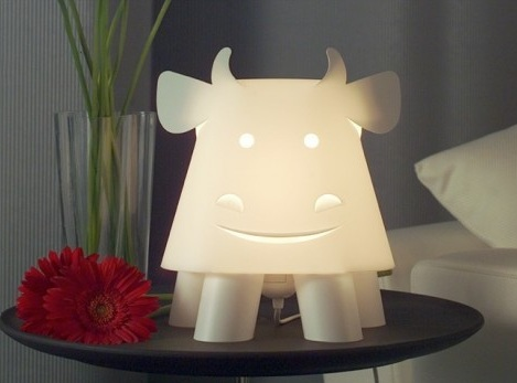 luces habitacion infantil vaca