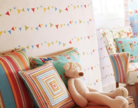 papel pintado habitacion bebe dibujos