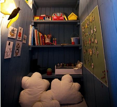 rincon juegos habitacion infantil estanteria