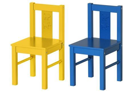 sillas originales ikea para niños