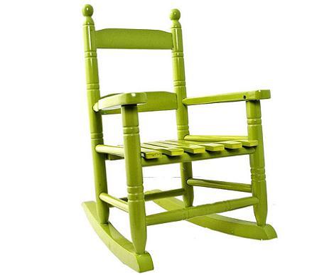 sillas originales para niños mecedora