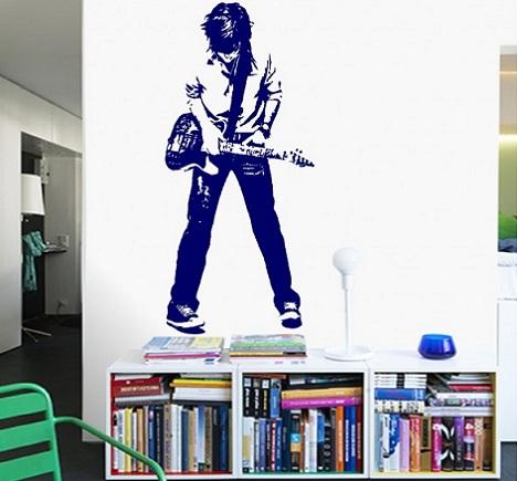 vinilos habitacion juvenil musica