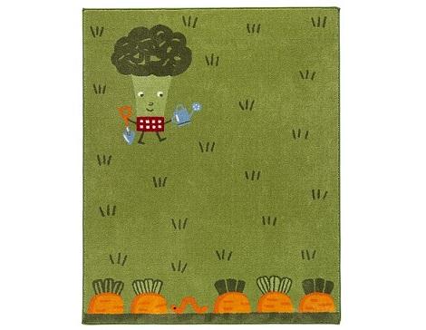 alfombras bebe jardin