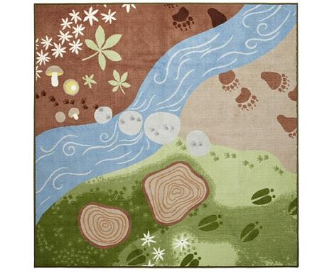 alfombras bebe paisaje