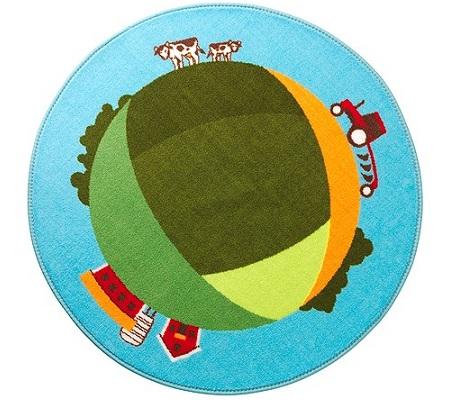 alfombras bebe redondas