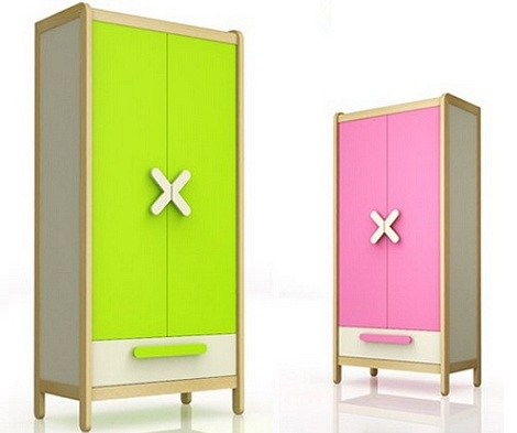 armarios infantiles colores