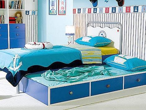 cama nido nino marinera