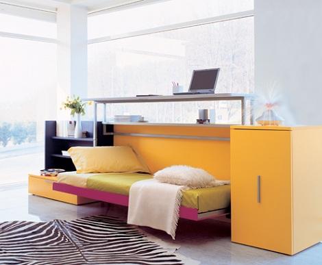 camas plegables ninos escritorio cama