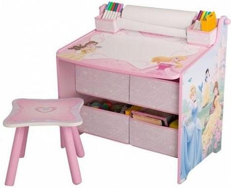 escritorios para ninos princesas