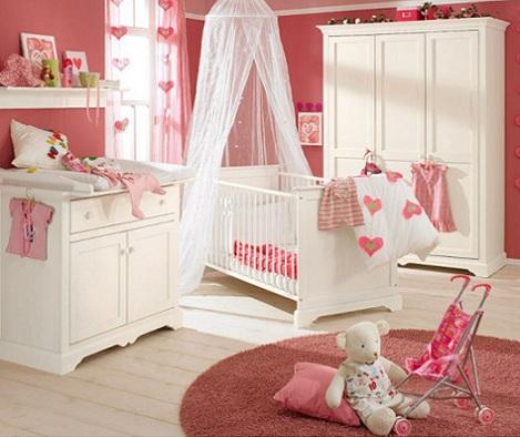 habitacion bebe princesa dosel