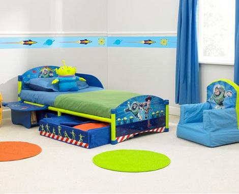 habitacion disney toy story