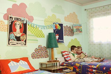 Habitación ecléctica niños
