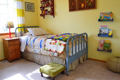 Habitación niño vintage