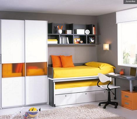 ideas habitaciones juveniles blanca
