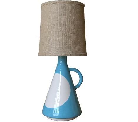lamparas infantiles originales azul