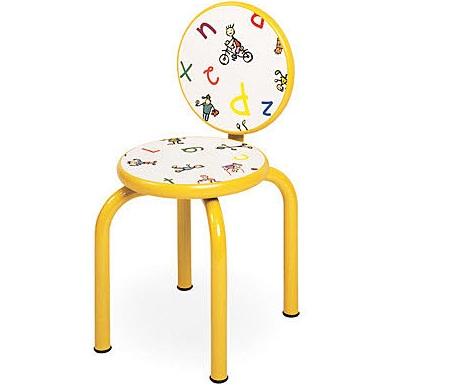 sillas para ninos divertidas letras