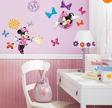 vinilos decorativos disney minnie