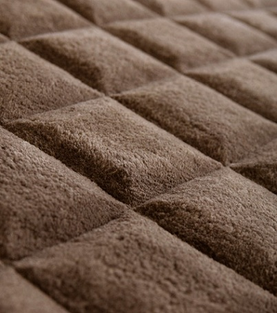 alfombras juveniles originales chocolate