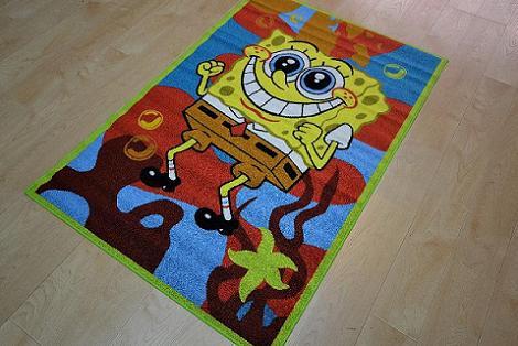 Bob Esponja alfombra