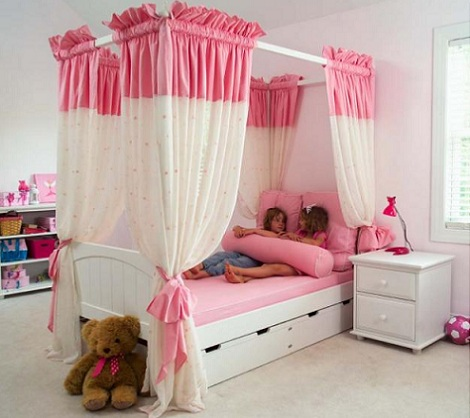 cama de princesa dosel