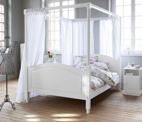 cama con dosel On estructura dosel cama