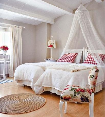 cama dosel nina gemelas