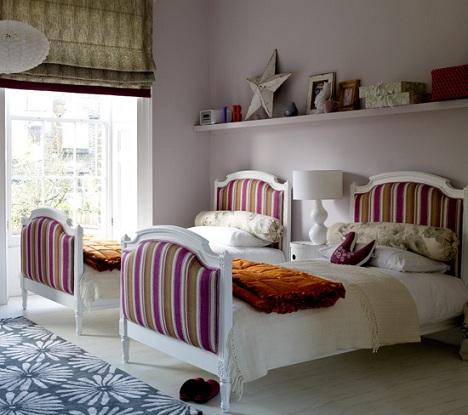 camas gemelas ninos cabeceros