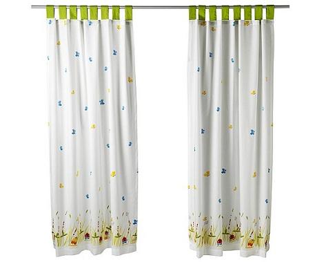 ikea cortina niños