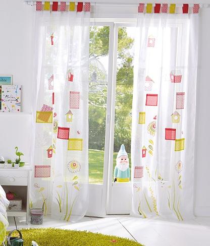 cortinas ninos casita