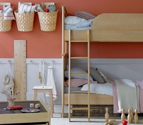 decoracion infantil habitaciones literas