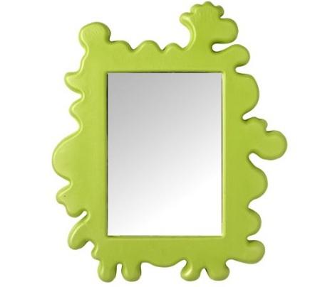 espejos ninos verde