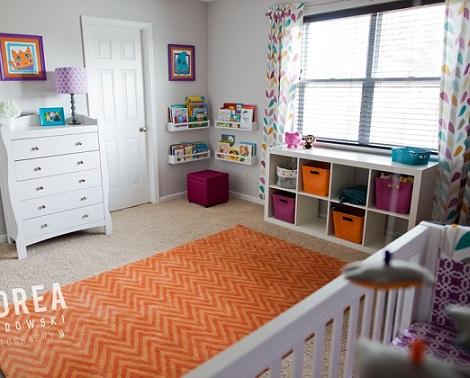 fotos inspiracion habitacion bebe colores