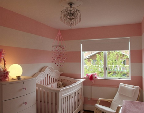 fotos inspiracion habitacion bebe rayas