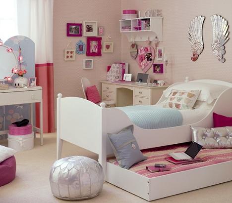 habitaciones juveniles chica cama nido