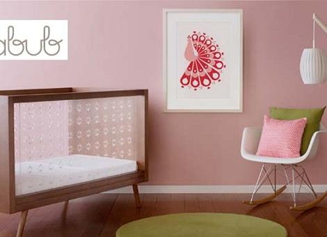 imagenes habitaciones bebe modernas rosa