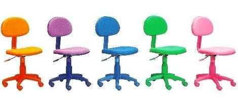 silla escritorio colores